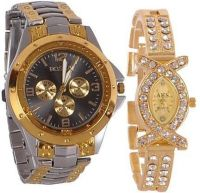 Get Upto 79% Off on a Couple Watch