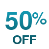 Flat 50% off or More on EOSS