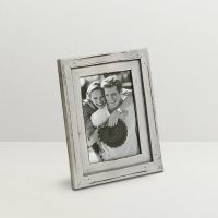 Aapno Rajasthan Light Grey Finish Photo Frame