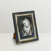Aapno Rajasthan Nostalgic Blue Finish Photo Frame