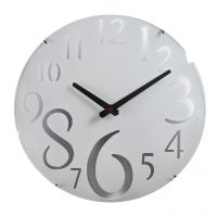 Aapno Rajasthan White Beautiful Huge Numeral Wall Clock