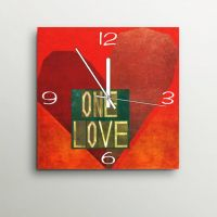 ArtEdge One Love Wall Clock