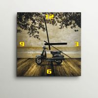 ArtEdge Retro Scooter Wall Clock