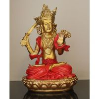 Browse House Goddess Red And Gold Tara Small Posture