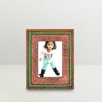 Kraftorium Ethnic Rajasthani Hand Painted Stunning Photo Frame