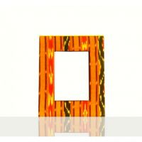 Palettino Photo frame Ikat Print