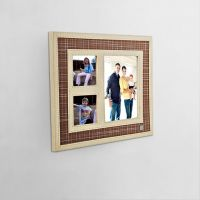 Maspar Batik Slub Beige Photo Frame