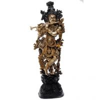 Pure Divine Standing Krishna With Flute