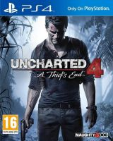 Uncharted 4 : A Thief's Endfor PS4
