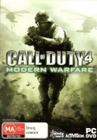Call of Duty 4 Modern Warfare - Game Of The Year Edition - PC