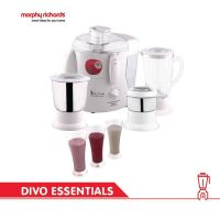 Morphy Richards Divo Essentials 3 Jars Juicer Mixer Grinder