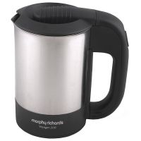 Morphy Richards Voyager 200 0.5Ltr 1000 Watt Stainless Steel Electric Kettle