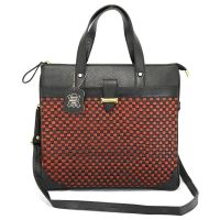 Gilmore Oak Women's Genuine Leather Hand-held Bag Black
