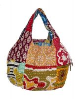 Indiweaves handmade kanta cotton Jhola Bag from Gujarat
