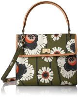 Orla Kiely Textured Vinyl Poppies and Daisies Print Cicely Bag
