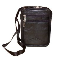Style98 100% Genuine Leather Crossbody Sling Bag||Messenger Bag||Handbag||Hard Disk Bag||Shoulder Bag||Cash bag for Men,Women,Boys & Girls