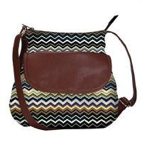 Super Coloured Wave Pattern 2511 obo, Ethnic Hobo Bag, Aztec Hobo Bag, Native Style Bag, Large Hobo Bag, Zipper...
