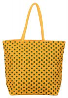Utsav Kraft Women's Tote Bag(Yellow & Green,Uk635)