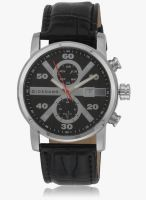 Giordano Gx1575-01 Black/Black Analog Watch