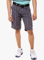 Sports 52 Wear Coffee Checked Shorts