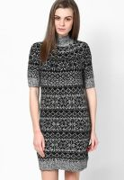 Tommy Hilfiger Grey Half Sleeve Dress