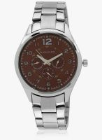Giordano 60064-33 Brown - P11669 Silver/Brown Analog Watch