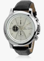 Maxima Attivo 27713Lmgi Black/White Chronograph Watch
