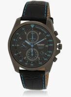Seiko SNDD71P1-SOR Black/Black Chronograph Watch