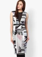 River Island Multicoloured Printed Bodycon Dress