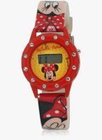 Disney Dw100229 Yellow/White Digital Watch