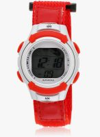 KOOL KIDZ DMF-023 H-RD Red/Grey Digital Watch