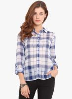 Paprika Blue Printed Shirt