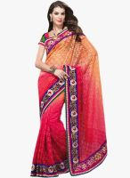 Triveni Sarees Multicoloured Embroidered Saree