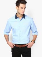 John Players Blue Casual Shirt