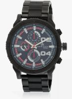 Daniel Klein Dk10439-7 Black/Grey Analog Watch