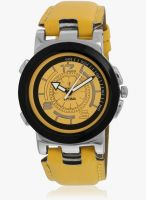 Fashion Track Ft-Anl-2517 Yellow/Yellow Analog Watch