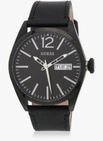 Guess Guess Mens Trend Black/Black Analog Watch