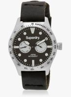 Superdry Syg106b Black/Black Analog Watch