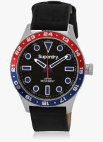 Superdry Syg143b Black/Black Analog Watch
