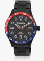 Superdry Syg143bm Black/Black Analog Watch