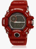 Casio G-Shock Gw-9400Rd-4Dr Red/Brown Digital Watch