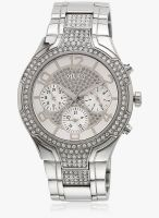 Guess Guess Ladies Sport Silver/Silver Analog Watch
