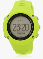 Suunto Ambit3 Run Ss021260000 Lime Green/Black Smart Watch