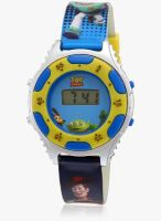 Disney Dw100236 Blue/White Digital Watch