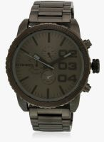 Diesel Dz4215 Dark Grey/Gun-Metal Chronograph Watch