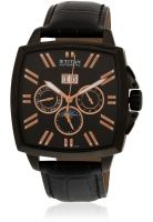 Titan 90004Nl01J Black/Black Chronograph Watch