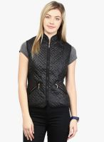 Harpa Black Solid Jacket