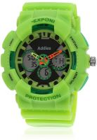 Fluid Fs204-Gr01 Green/Black Analog & Digital Watch