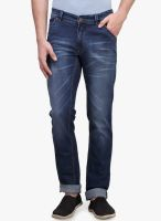 Canary London Blue Low Rise Slim Fit Jeans