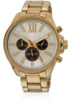 River Island 658557 Golden/Silver Analog Watch